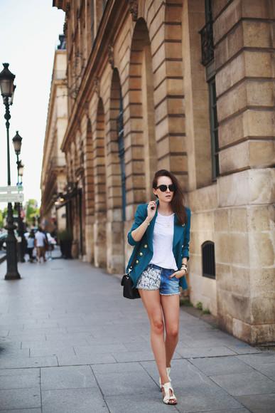 style scrapbook jacket shoes bag sunglasses jewels t-shirt