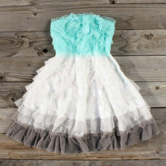 Tiers & Tulle Party Dress, Sweet Women's Country Clothing ($50-100) - Svpply
