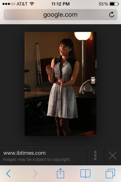 dress lea michelle