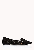 Luxe Lasercut Loafers | FOREVER21 - 2000111958
