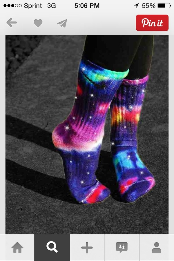 shoes nike galaxy print