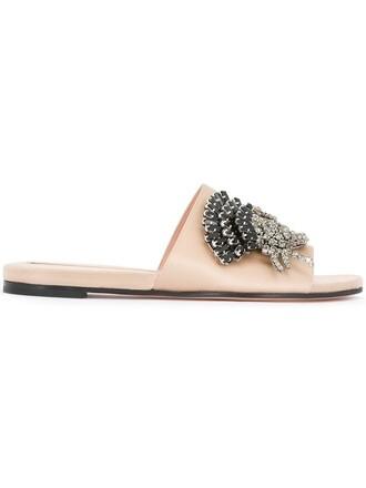 embellished sandals nude shoes