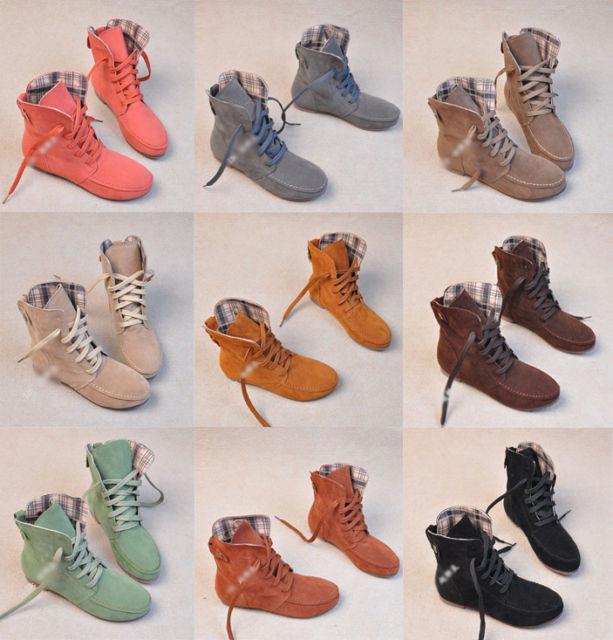 England round fringed flat boots