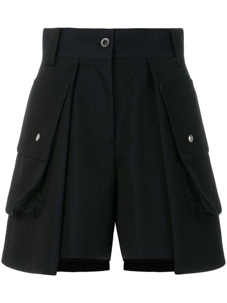 Sacai shorts women cotton blue