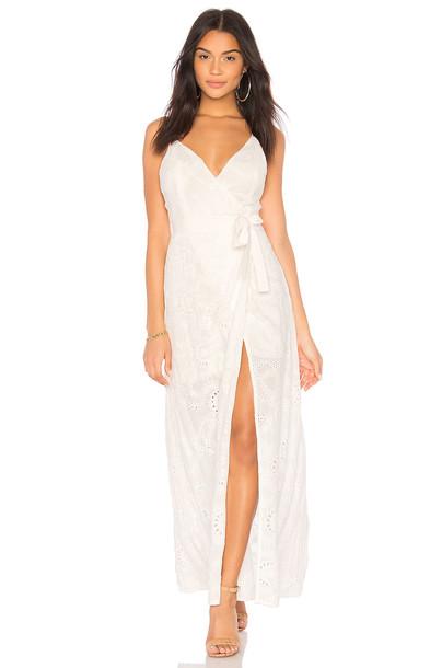 dress wrap dress white