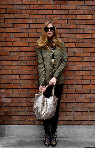 the blonde salad shoes jeans t-shirt shirt sunglasses bag