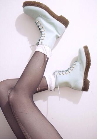 shoes drmartens ruffle frilly urban kawaii kawaii dark streetstyle dope
