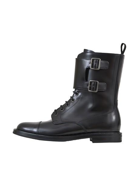 Churchs combat boots black shoes