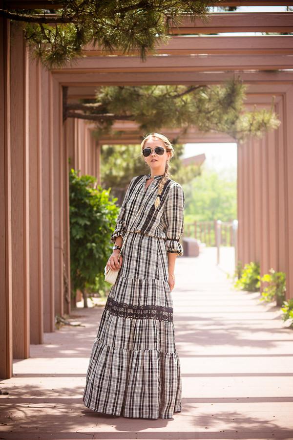 my blonde gal dress bag sunglasses shoes jewels
