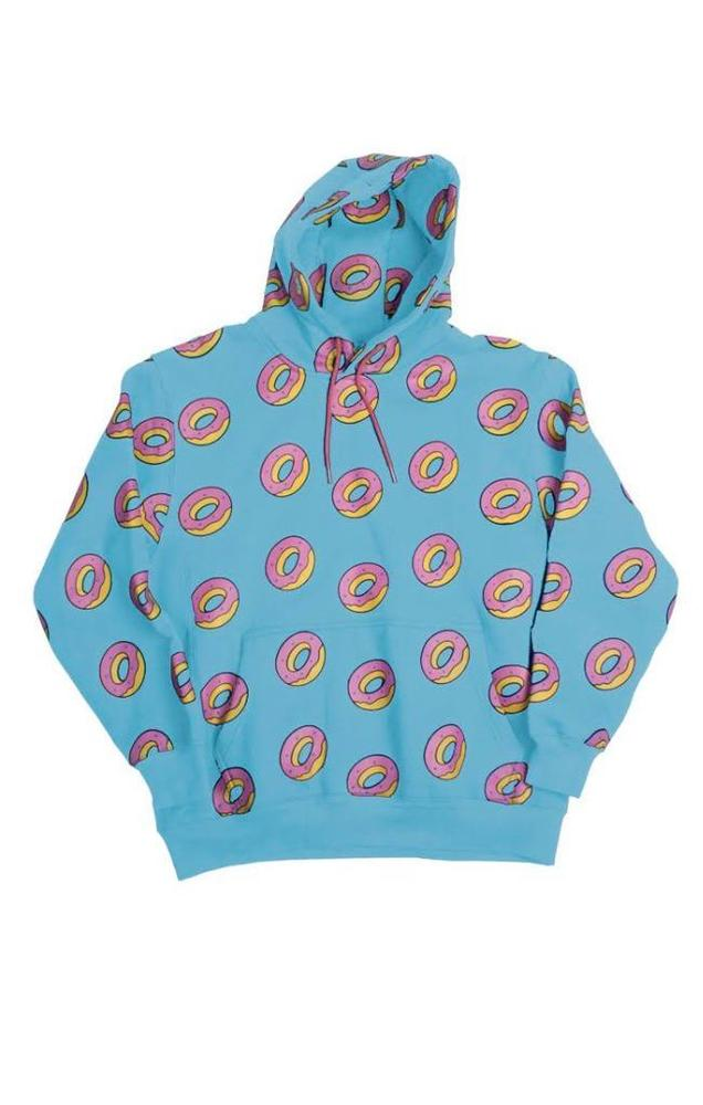 4d78c36137b1 NEW GOLF WANG MENS HOODIE SWEATER DONUTS RARE COLLECTORS ITEM SIZE LARGE  BLUE