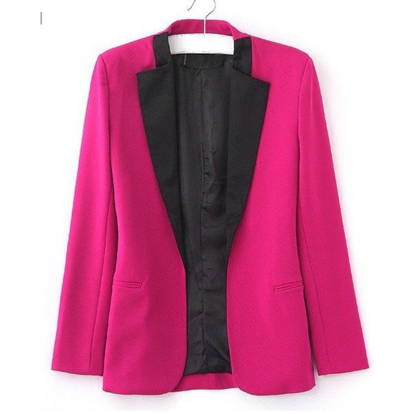 jacket pink jacket blazer celebrity style going out outfits