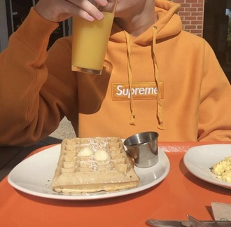 sweater supreme orange hype