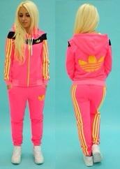 jumpsuit,tracksuit,http://fashion-tendance.prestabox.com/fr/survetement-adidas/93-flashy-girly-tendance-.html