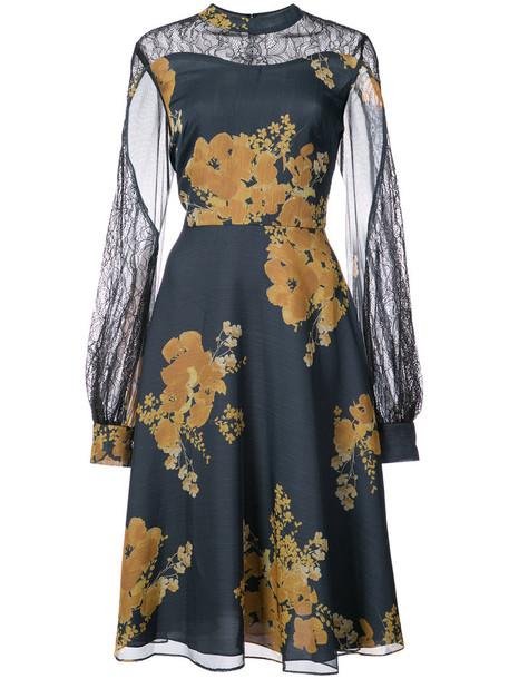 Sachin & Babi dress print dress women floral print blue