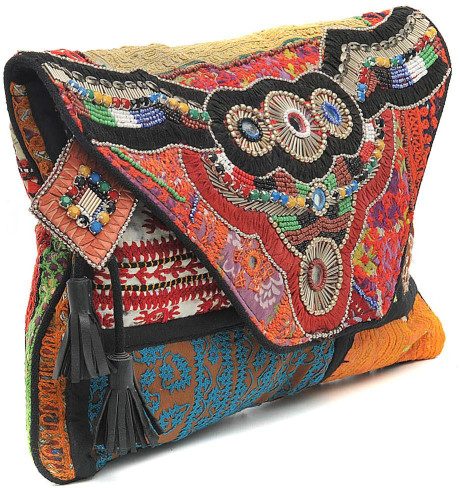Antik batik multicolor aeden wallet large clutch