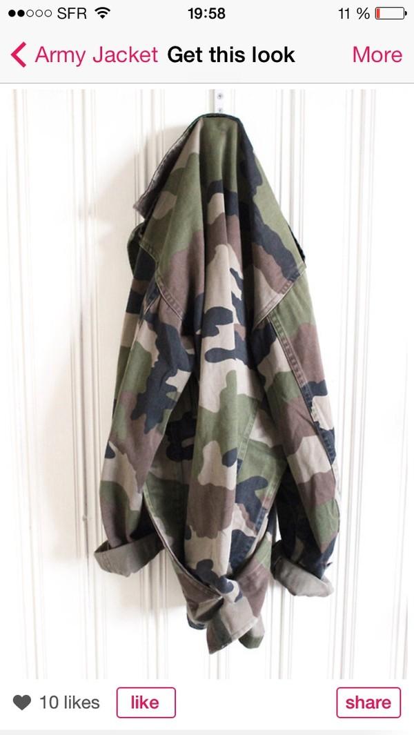 jacket jacket military