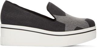 denim loafers black shoes