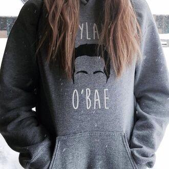 jacket dylan o'brien sweatshirt teen wolf