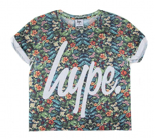 HYPE Womens Tuttie Fruity Crop Top | Tuttie Fruity | Footasylum