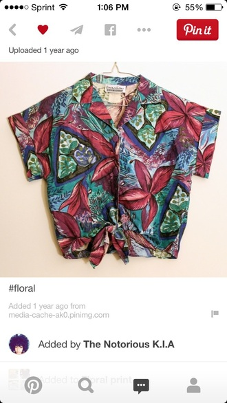 blouse floral floral shirt floral top collared shirts