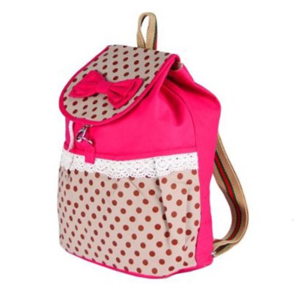 bag backpack back to school pink