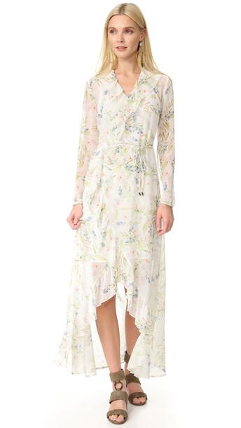 Ministry Of Style New Romantic Maxi Wrap Dress - Botanical Print