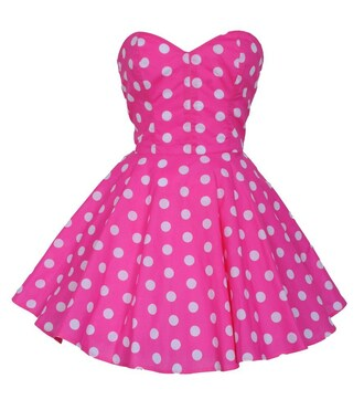 dress styleiconscloset polka dots retro pin up
