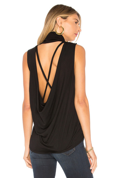 Lanston back black top