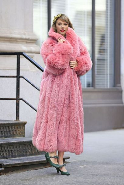 coat fur fur coat long coat winter outfits winter coat