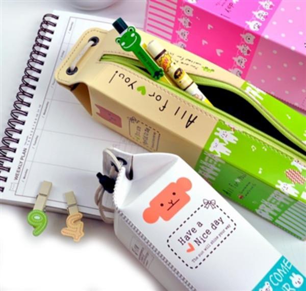 bag pencil case food holiday gift desk