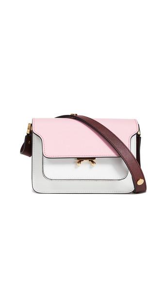Marni Trunk Shoulder Bag in rose