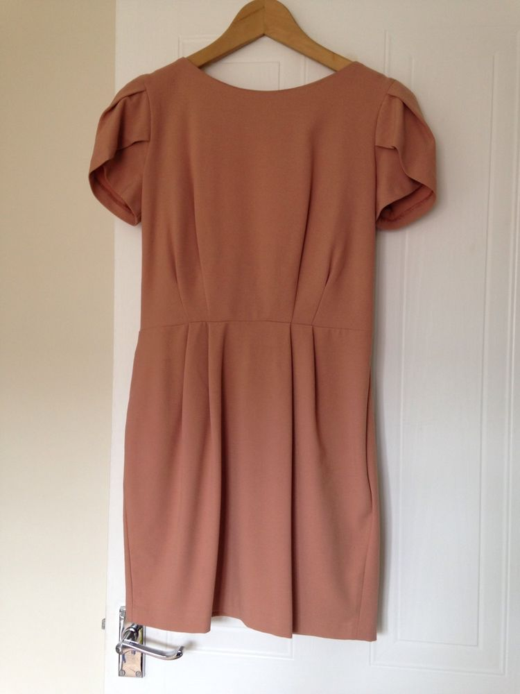 Asos Size 10 Dress Cowl Back