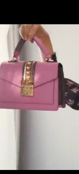 bag pink handbag