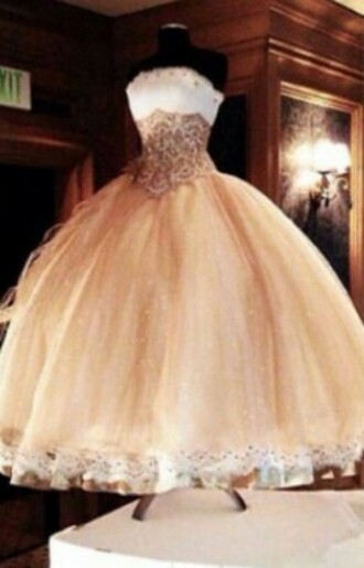 dress gold dress white dress quincenera dress quincenera poofy poofy dress corset dress corset
