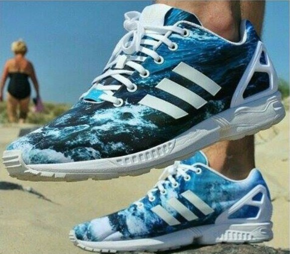 shoes trainers addidas zx flux