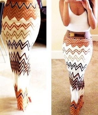 dress chevron maxi skirt maxi skirt