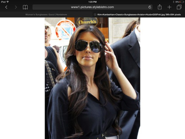 kim kardashian aviator sunglasses sunglasses