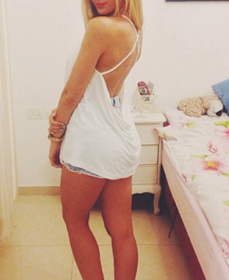 white crop tops top openback top any colour #dress #openback #pretty #formal lingerie