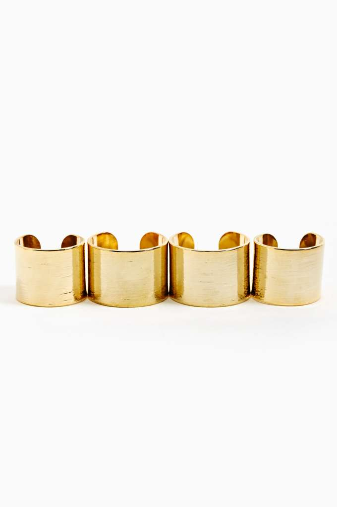 Stacked Rings - Gold  in  Accessories at Nasty Gal