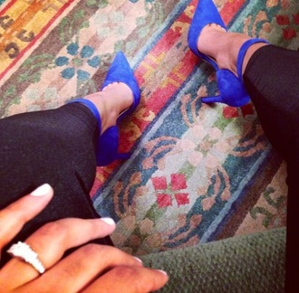 shoes blue pumps blue high heels high heels pumps ankle strap ankle strap heels