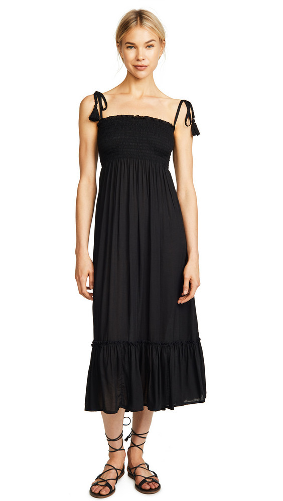 coolchange Piper Solid Dress in black