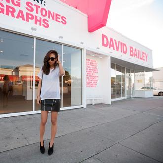 fashiontoast blogger t-shirt skirt bag