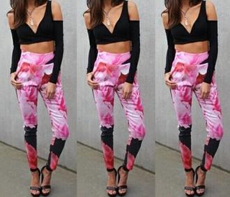 pants leggings printed leggings printed pants beautiful love