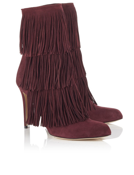 Paul Andrew boots purple
