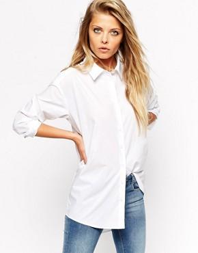 ASOS Smart Boyfriend White Shirt at asos.com