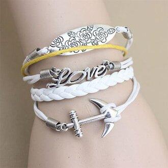 jewels love charm bracelet