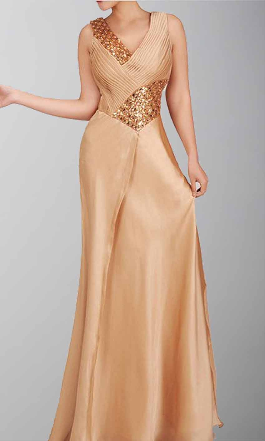 Gorgeous V-neck Golden Beaded Long Prom Dress KSP029 [KSP029] - £101.00 : Cheap Prom Dresses Uk, Bridesmaid Dresses, 2014 Prom & Evening Dresses, Look for cheap elegant prom dresses 2014, cocktail gowns, or dresses for special occasions? kissprom.co.uk offers various bridesmaid dresses, evening dress, free shipping to UK etc.