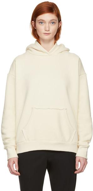 Simon Miller hoodie white off-white sweater