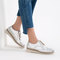Flat shoes with brogue detail - view all-shoes-woman | zara united states
