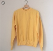 shirt,yellow,white,honey,long sleeves,back to school,warm